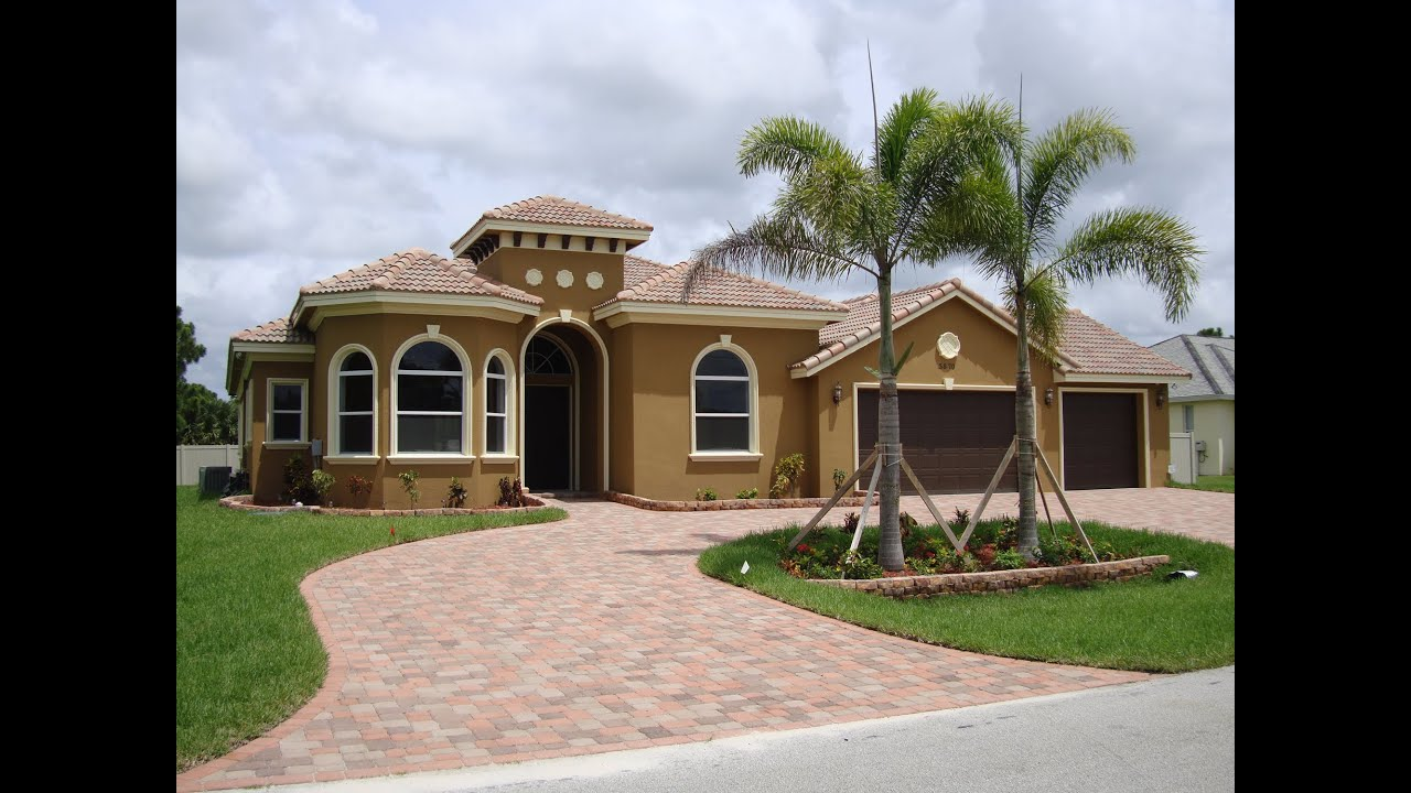New construction in port st lucie fl 34986 by h3 homes for New home images