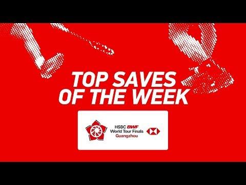 Top Saves of the Week | HSBC BWF World Tour Finals 2018 | BWF 2018 Mp3