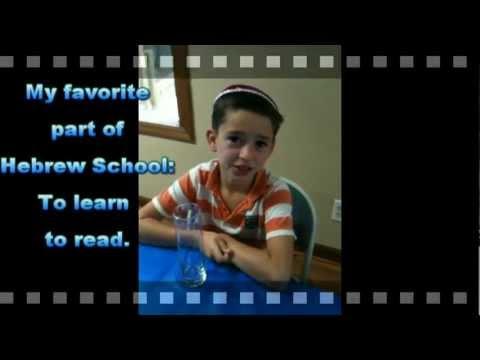 Chabad Hebrew School Ballantyne 2012