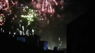 FULL Edinburgh Castle 2013/14 Hogmanay Fireworks Display