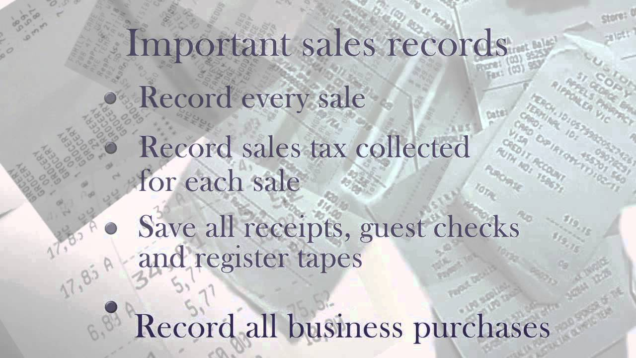 Nys Sales Tax >> Nys Sales Tax Record Keeping Requirements Youtube