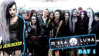 M'ERA LUNA 2017 - Day 2 (Goth festival)