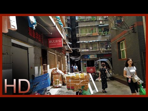 【hd】walk-through-rustic-backstreets-of-chongqing,-china-|-cyberpunk-urban-jungle