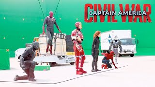 Making Of Captain America: Civil War | Behind the scenes #2