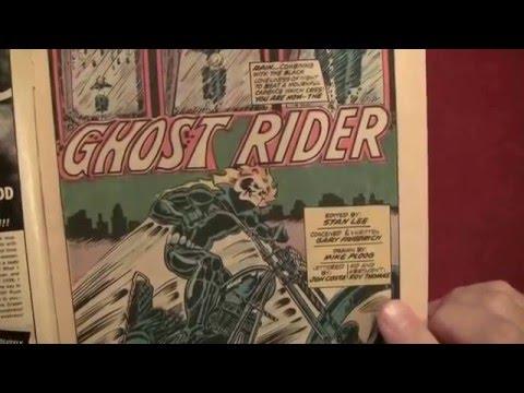 Reading Comics: First Appearance/Origin of Ghost Rider, Marvel Spotlight #5, 1972 [ASMR, Male]