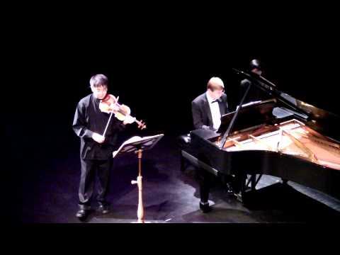 Jonathan Lee plays Kreutzer Sonata 1st / 2nd Mov.