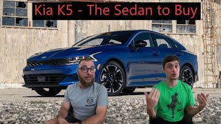 Kia K5 - Best Sedan for the Va…