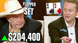 Doyle Brunson SCHOOLS Cocky Businessman For $204,400