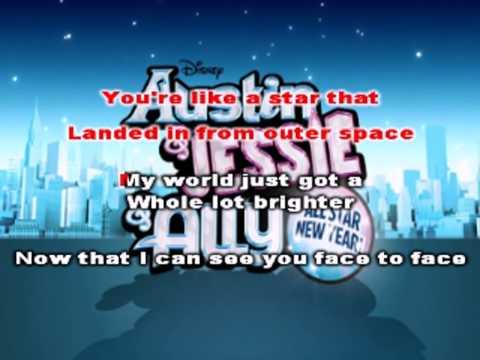 Debby Ryan & Ross Lynch -  Face To Face | Karaoke Sing Along