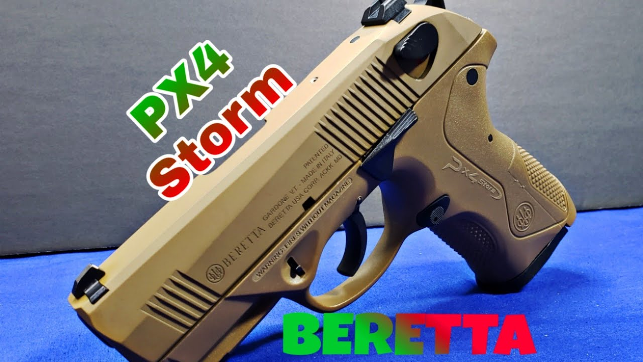 Beretta PX4 Storm Compact:  Is it Euro-trash?