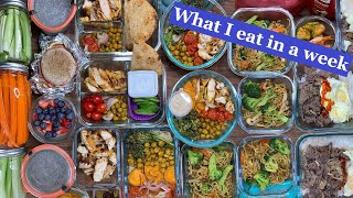 Weekly meal prep #8  Meal ideas and recipes