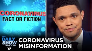Coronavirus Misinformation & Toilet Paper Panic | The Daily Show