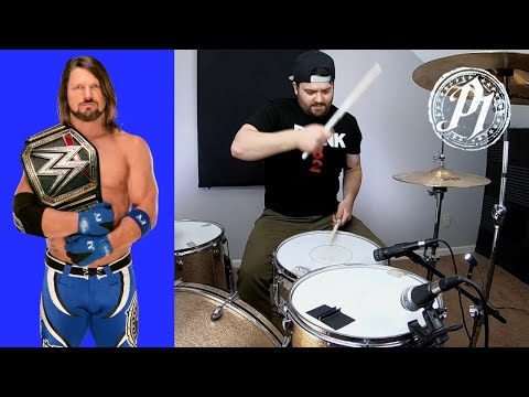 WWE AJ Styles Phenomenal Theme Song Drum Cover
