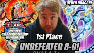 Yu-Gi-Oh! 1ST PLACE UNDEFEATED 8-0 CYBER DRAGON DECK PROFILE 2019! MONTREAL REGIONALS!