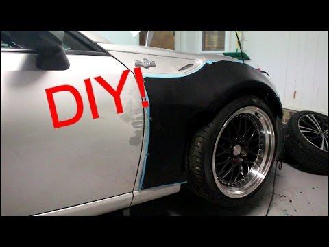 Diy Rocket Bunny Fender Flare Install Pt 1 Youtube