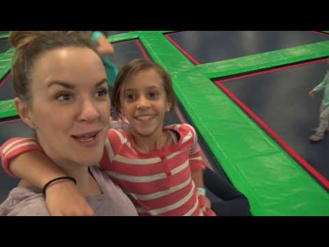 😳TRAMPOLINE INJURY 😳WE GO TO REBOUNDERZ AND DO GYMNASTICS! SMELLY BELLY TV | FAMILY VLOG