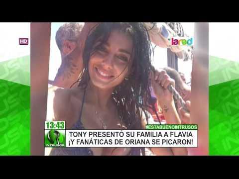 La Acción De Tony Spina Con Flavia Que Molestó A Los Seguidores De Oriana