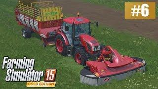 Trawa dla krów (Farming Simulator 15 GOLD #6), gameplay pl