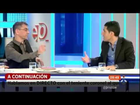 Monedero deja en evidencia al politólogo Nacho Martín en Espejo Público
