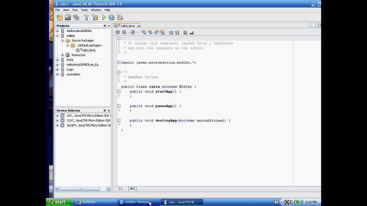 How to execute j2me programs in sdk youtube how to execute j2me programs in sdk baditri Gallery