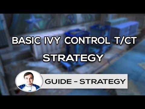 Basic Control Strategy on IVY as CT/T | HSG CS:GO | JIMZOR | GR