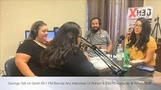 Watch Brenda Anz get an adjustment Live with Dr Robert from Elite Chiropractic & Rehab!
