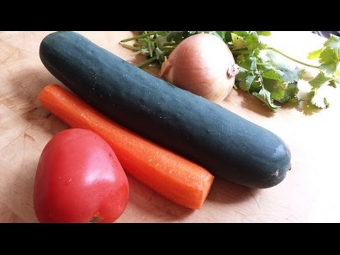 Quick & Easy Vegetable Salad - Vegan Salad - Episode 33