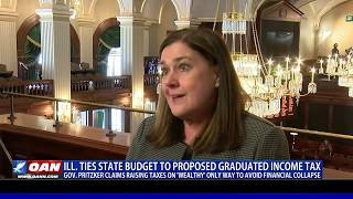 Ill. ties state budget to proposed graduated income tax