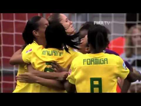 Brazil women'[S] national football team.Vine