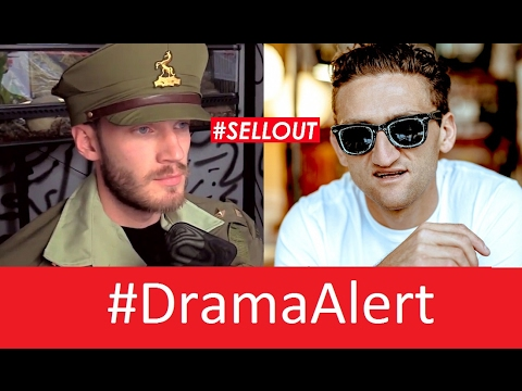 Thumbnail: Casey Neistat Sells Out over PewDiePie! #DramaAlert Shay Carl, CNN , Scare PewDiePie