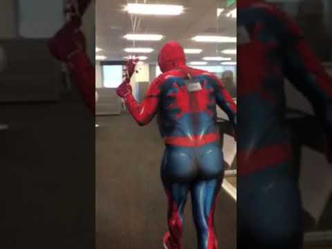 """Mid Life Spidey"" Skit & Singing Telegram"
