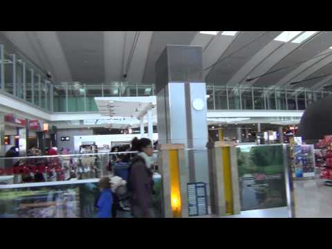 An HD Tour of Toronto Pearson Airport (YYZ), Terminal 1, E and F gates