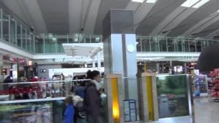 An HD Tour of Toronto Pearson Airport (YYZ), Terminal 1, E and F gates