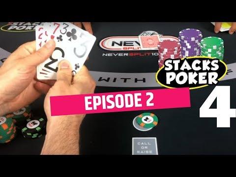 Stacks Poker 4 - 4 Cards - Poker - Episode 2