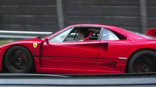 Ferrari F40 Acceleration Tunnel + Rev (HD)