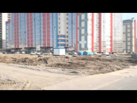 Благоустройство ЖК Тулинка в Кировском районе на ул  Петухова