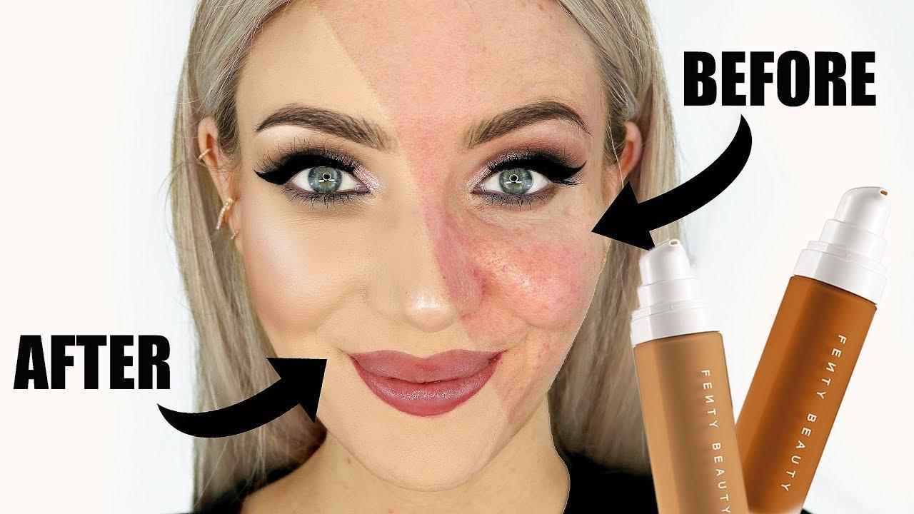 NO BULLSH*T Fenty Beauty Matte Foundation Review (Acne + Oily Skin)