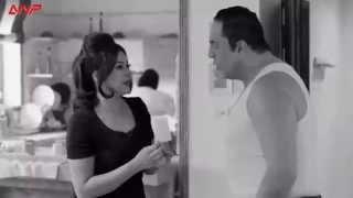 مشهد كوميدي رائع داليا البحيري وخالد سرحان في دور مراتي مدير عام في مسلسل يوميات زوجة مفروسة أوي