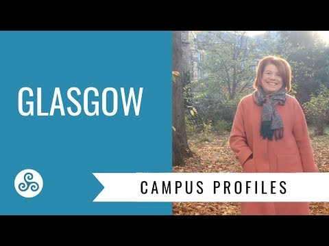 Glasgow University, Scotland - campus visit and overview by American College Strategies