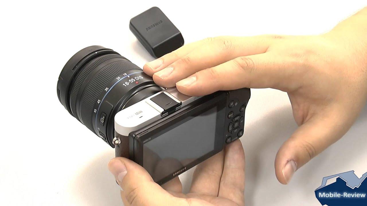 Видеообзор компактного фотоаппарата Samsung NX mini - YouTube