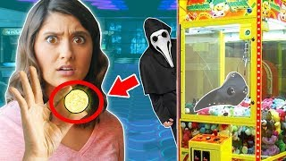 FOUND ABANDONED ARCADE ESCAPE ROOM with Mystery PLAGUE HACKER SPY (exploring riddles & clues)