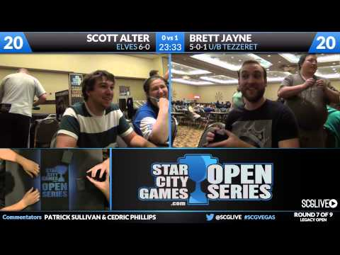 SCGVEGAS - Legacy - Round 7 - Scott Alter vs Brett Jayne [Magic: the Gathering]