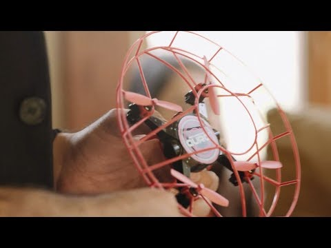 A New Science: GestureBotics Gesture Control │Aura Drone with Glove Controller