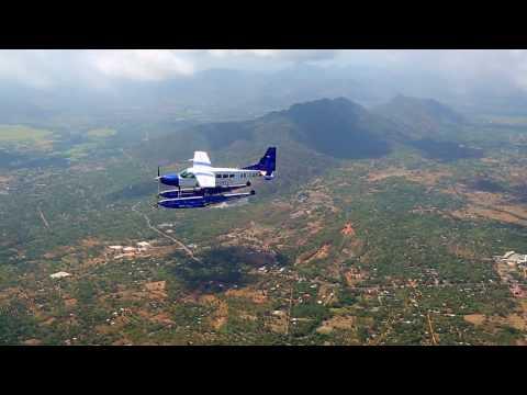 Cessna 208 Amphibian Caravan flying over Sri Lanka (operated by Cinnamon Air)