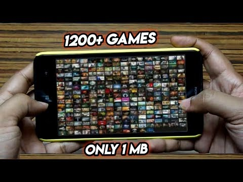 OMG! | 1200+ Android High Graphics Games | Only 1 Mb Size