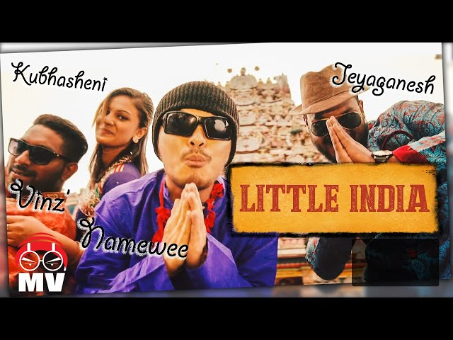 【LITTLE INDIA!】Namewee feat. Vinz' & Jeyaganesh @CROSSOVER ASIA 2017亞洲通車專輯