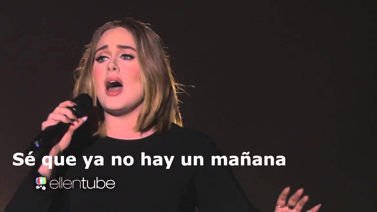 Adele All I Ask Live Subtitulada
