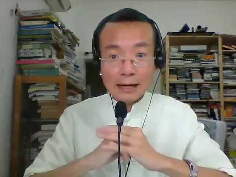 優雅香港話之行返入會議廳    曾焯文博士
