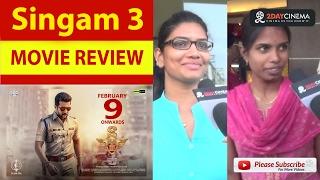 Singam 3 Movie Review | Suriya | Anushka Shetty 2DAYCINEMA.COM