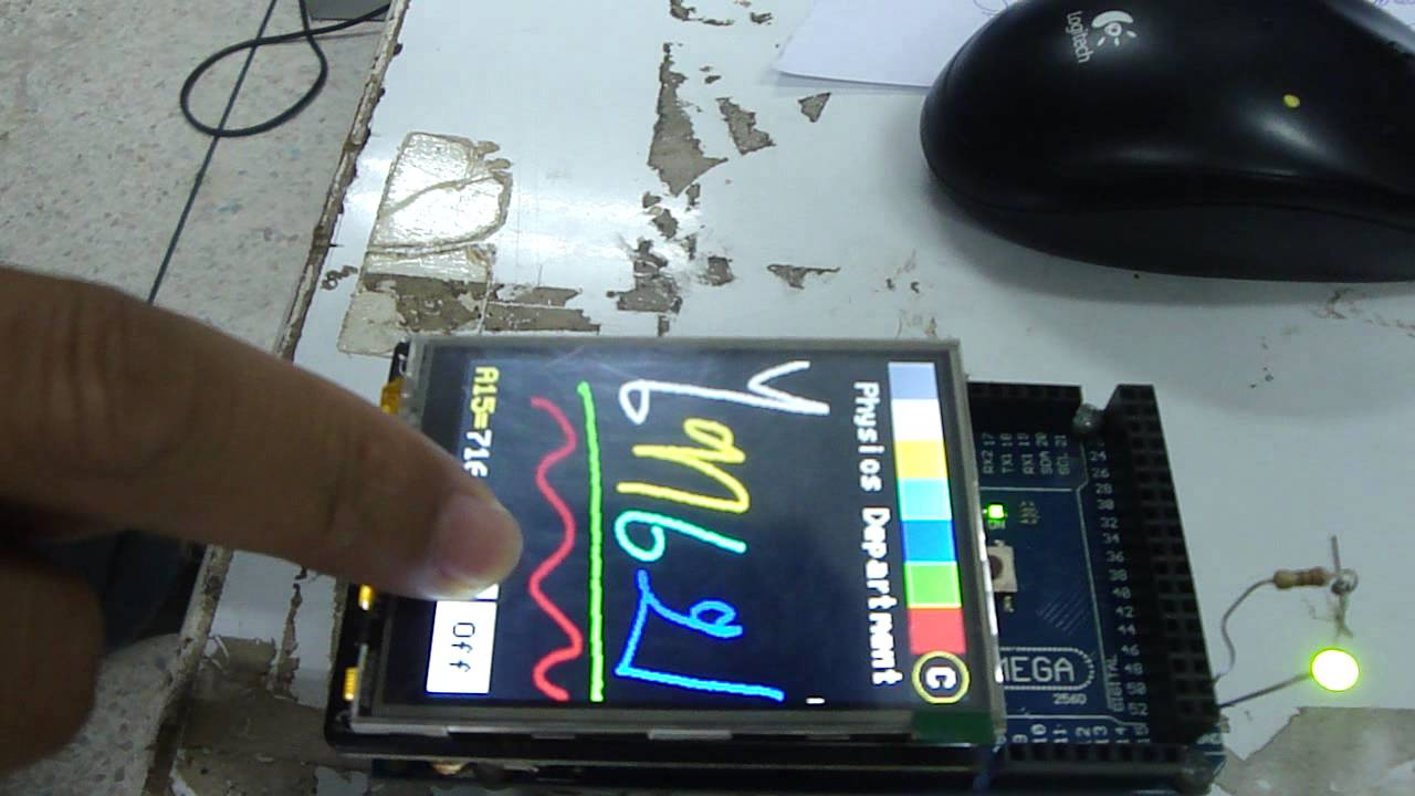 Tft Ili9341 With Arduino Mega Board Avr Chess Game Using And Touch Screen Lcd Free Microcontroller